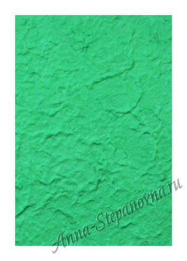 Бумага малбери плотная — Зеленая