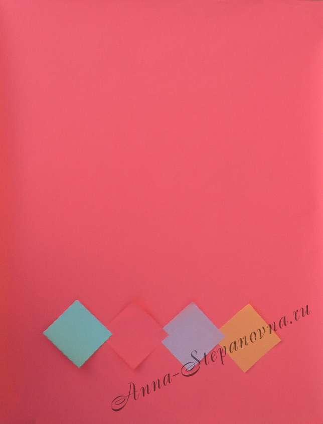 Бумага подарочная однотонная «люкс №1»
