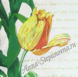 Салфетка для декупажа «Тюльпан»