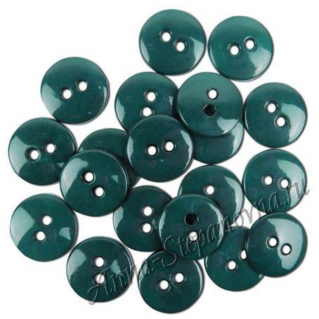 Набор пуговиц «Леденцы» сине-зеленый