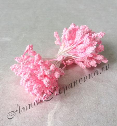 Тычинки двусторонние розовые