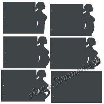 Заготовка для альбома «Беременность»