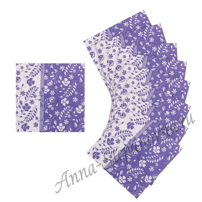 Салфетка «Орнамент цветочный» №524