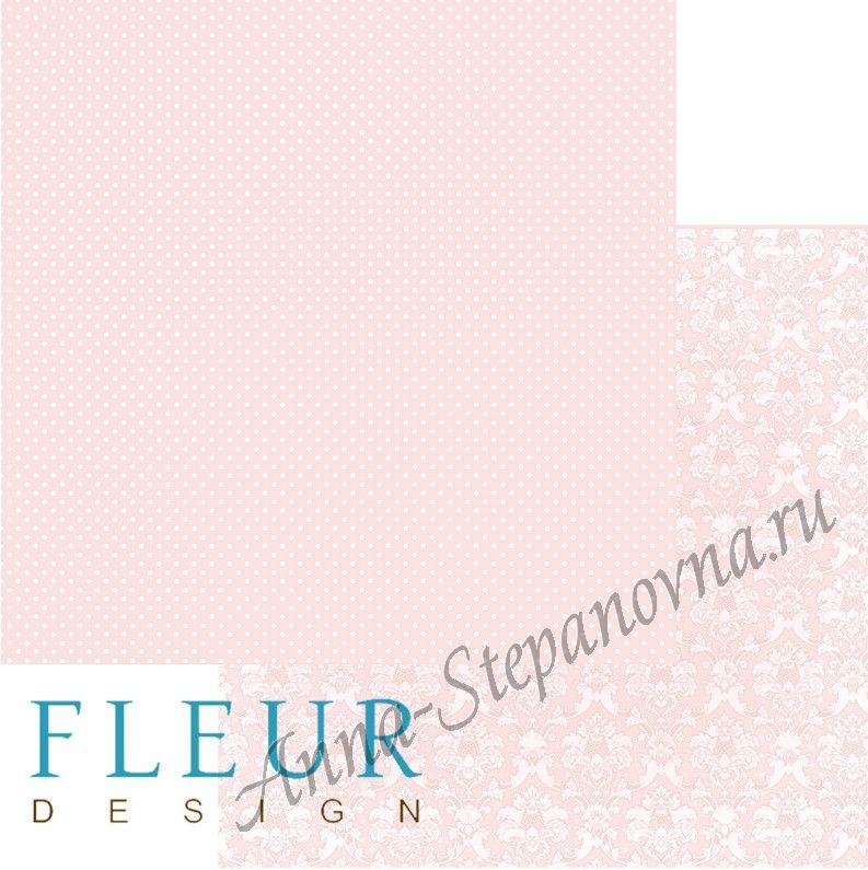 Бумага «Шебби Шик. Ванильно-розовый»