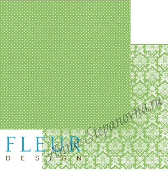 Бумага «Шебби Шик. Светлая зелень»