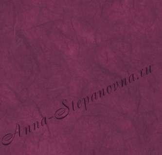 Бумага из натуральных волокон. Цвет: темно-красный