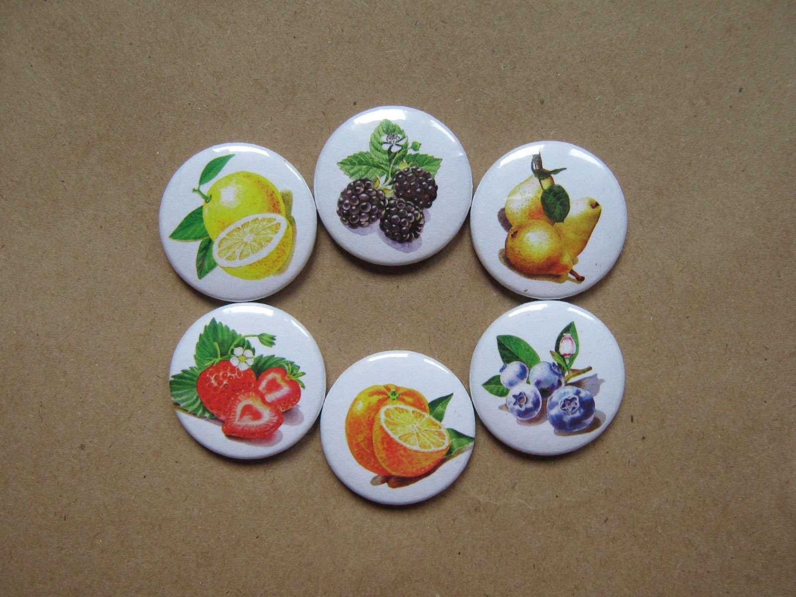 Набор фишек «Ягоды и фрукты»