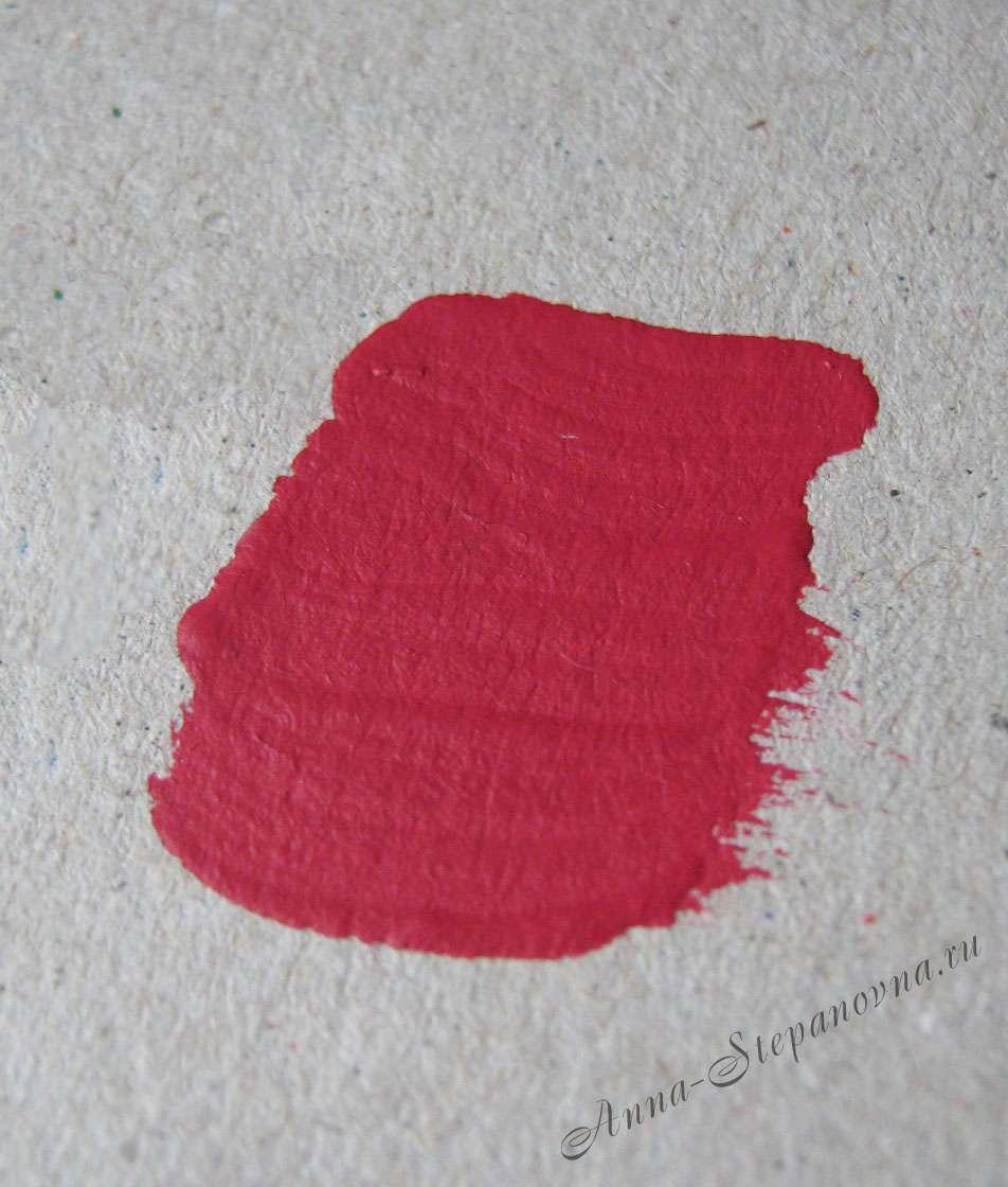 Краска «Испанская роза» акриловая