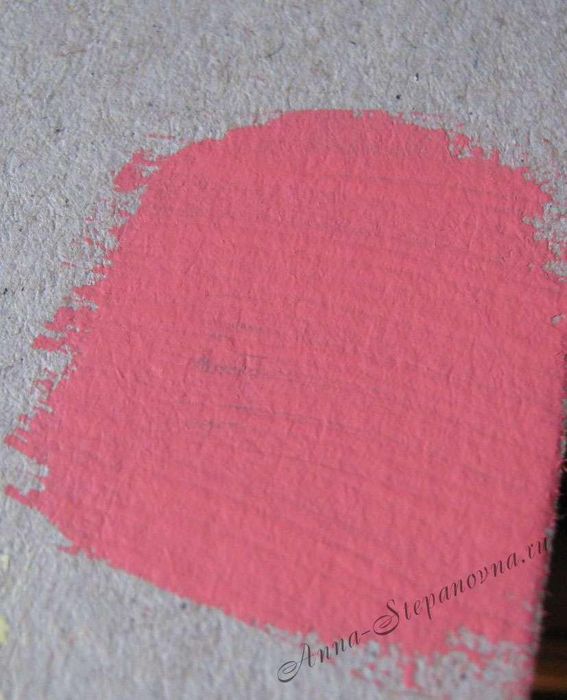 Краска «Ярко-розовый» акриловая