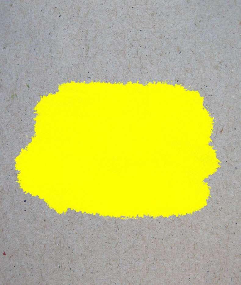 Краска «Желтый» акриловая