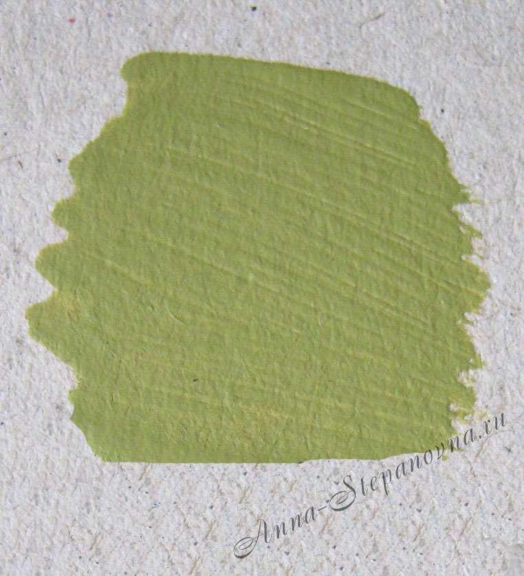 Краска «Оливковый» акриловая