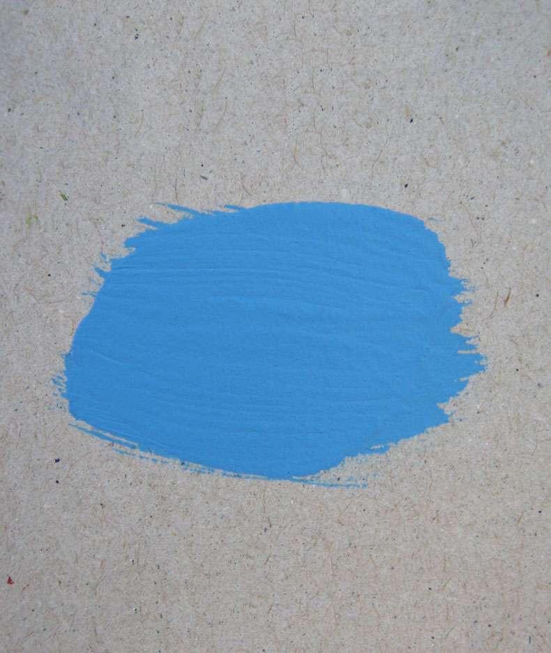 Краска «Голубой» акриловая
