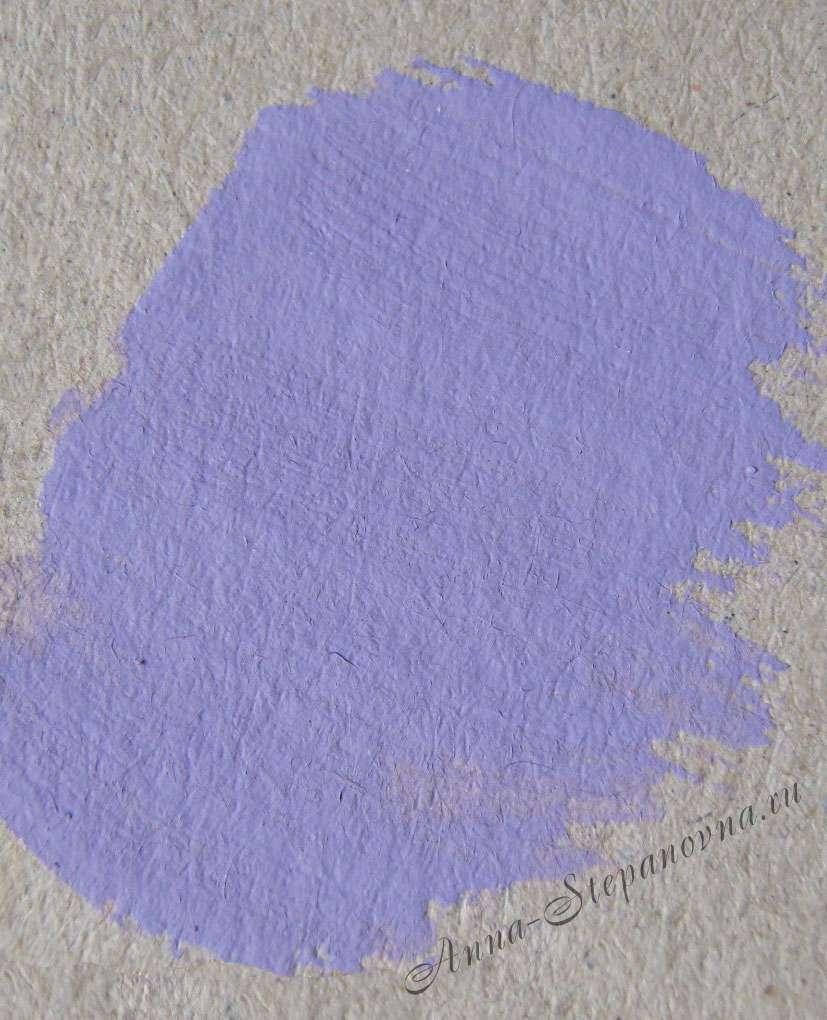Краска «Черника с молоком» акриловая
