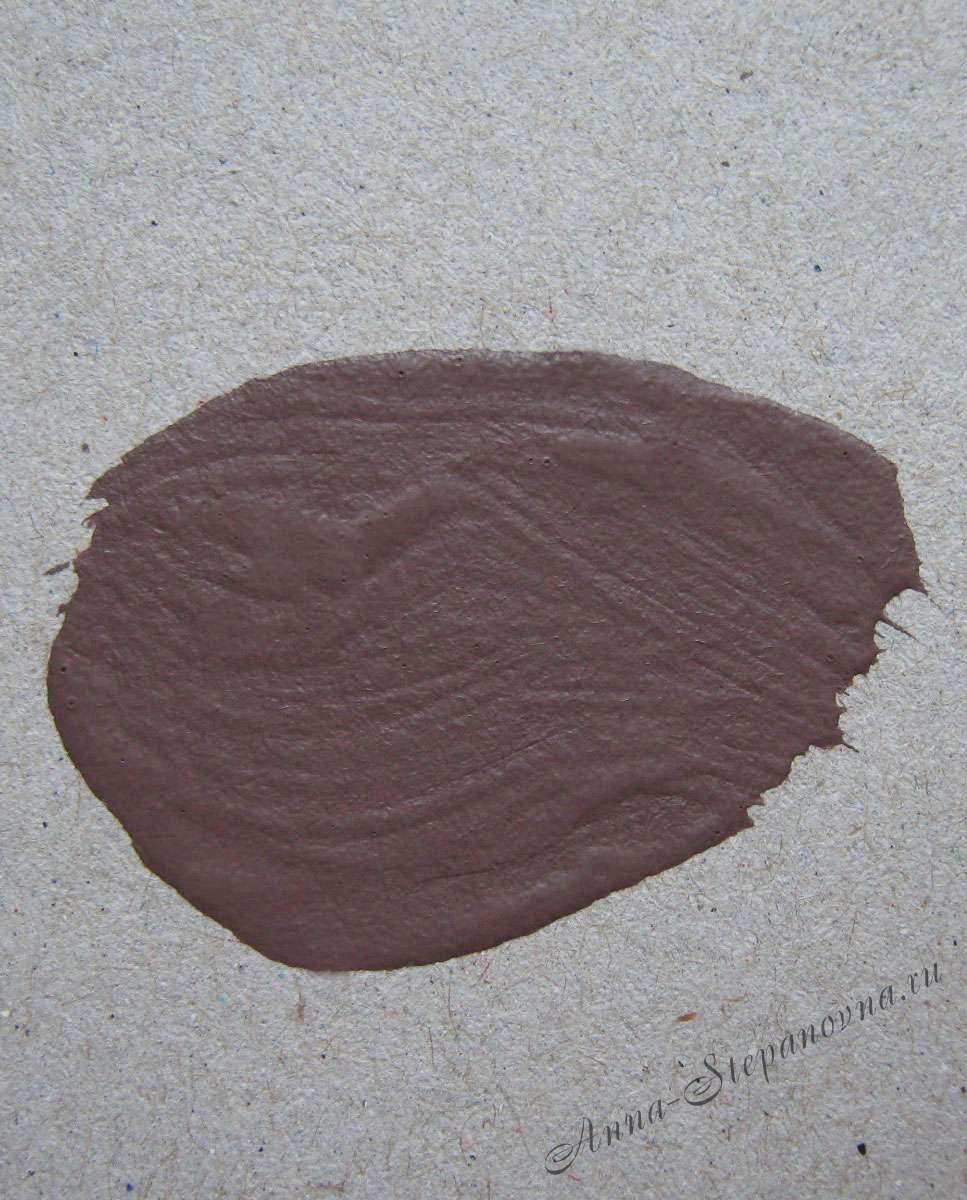 Краска «Коричневый» акриловая