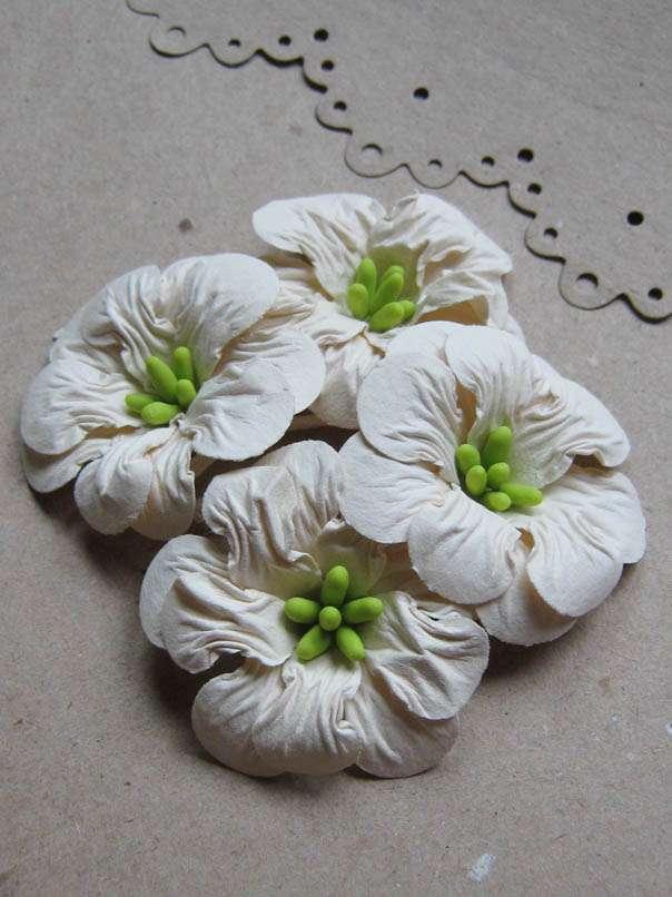 Цветы «Старинный сад» бумажные
