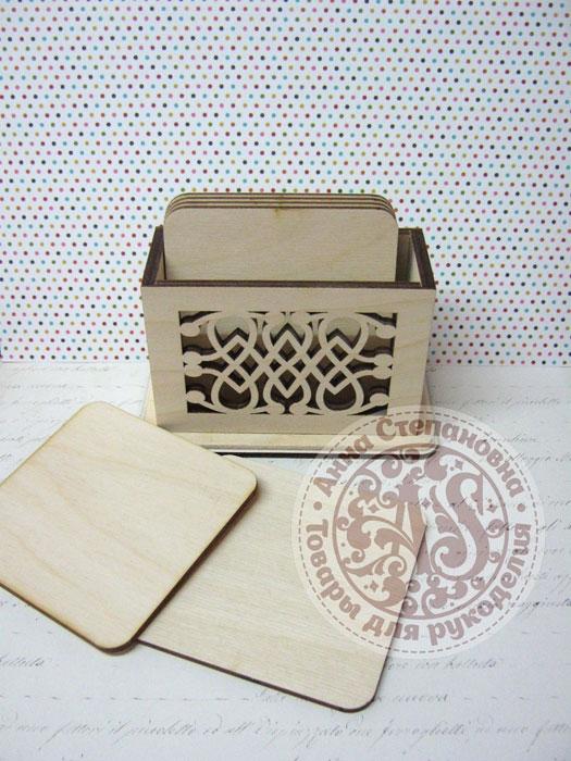 Подставки «Квадрат» в коробочке №2