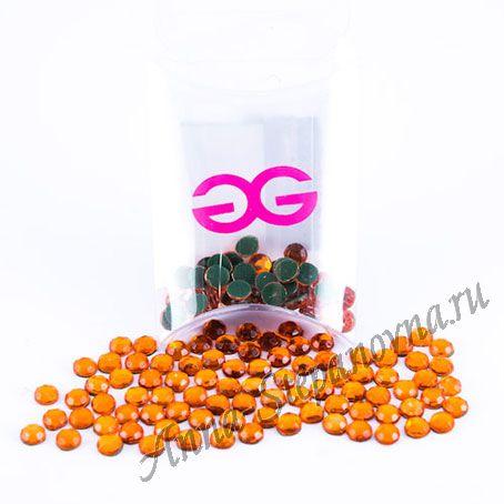 Термоклеевые стразы «Orange 20»