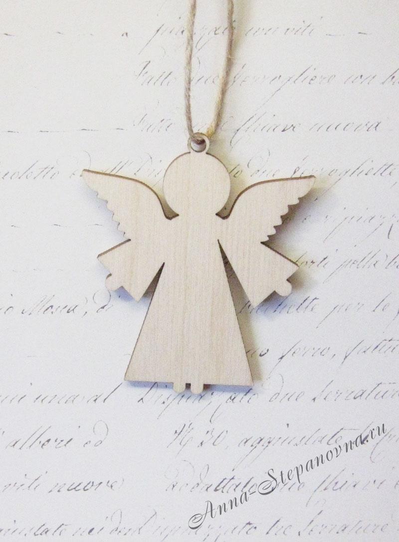 Подвеска «Ангел рождества»