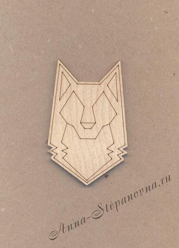 Заготовка-магнит «Волк»