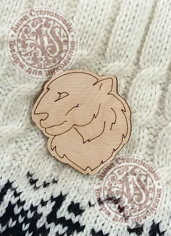 Заготовка «Полярный медведь» значок