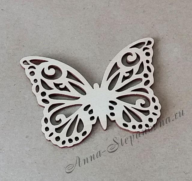 «Бабочка» чипборд деревянный