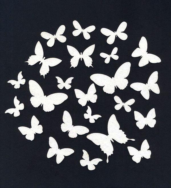 Чипборд «Бабочки и мотыльки»