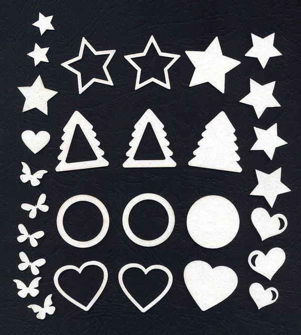 Набор чипборда «Шейкеры новогодние-1»