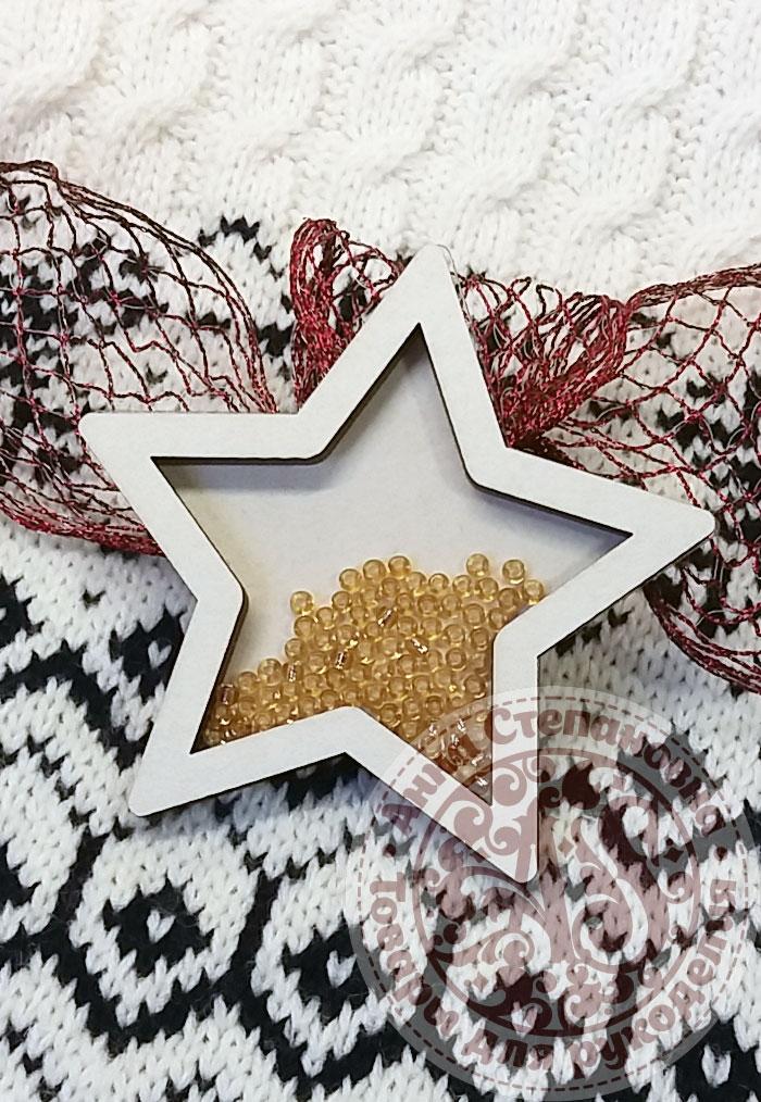 Чипборд шейкер «Звезда» простой