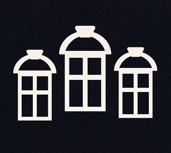 Чипборд «Три окна»