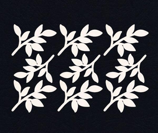 Чипборд «Легкие листочки»
