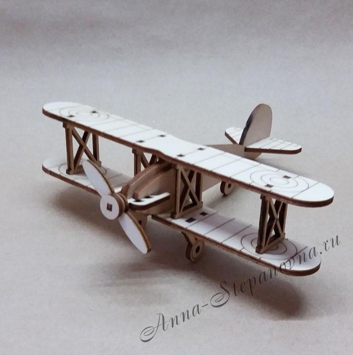 Игрушка самолет «Кукурузник»