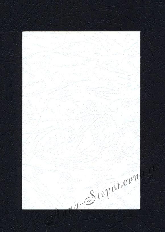 Заготовка для открыток «Простая. Белая» 1 шт.