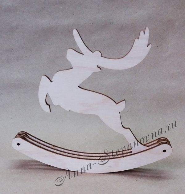 Фигурка-качалка «Смелый олень»