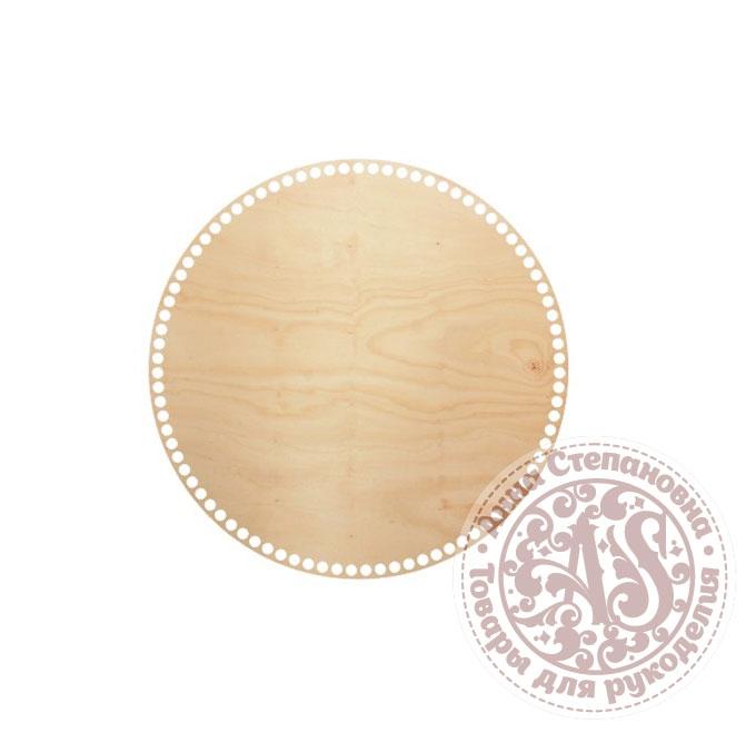 Деревянное донышко «Круг» для корзины 35 см