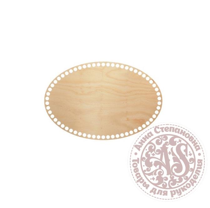 Деревянное донышко «Овал» для корзины 20х30 см