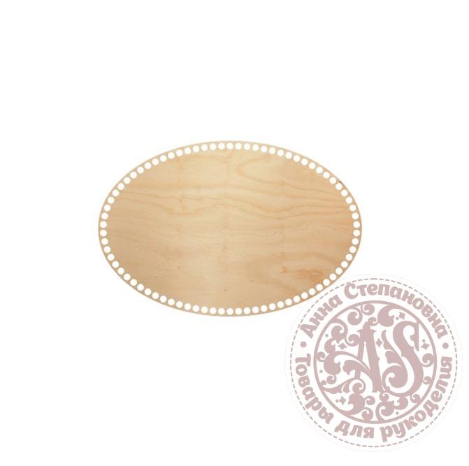Деревянное донышко «Овал» для корзины 25х37,5 см