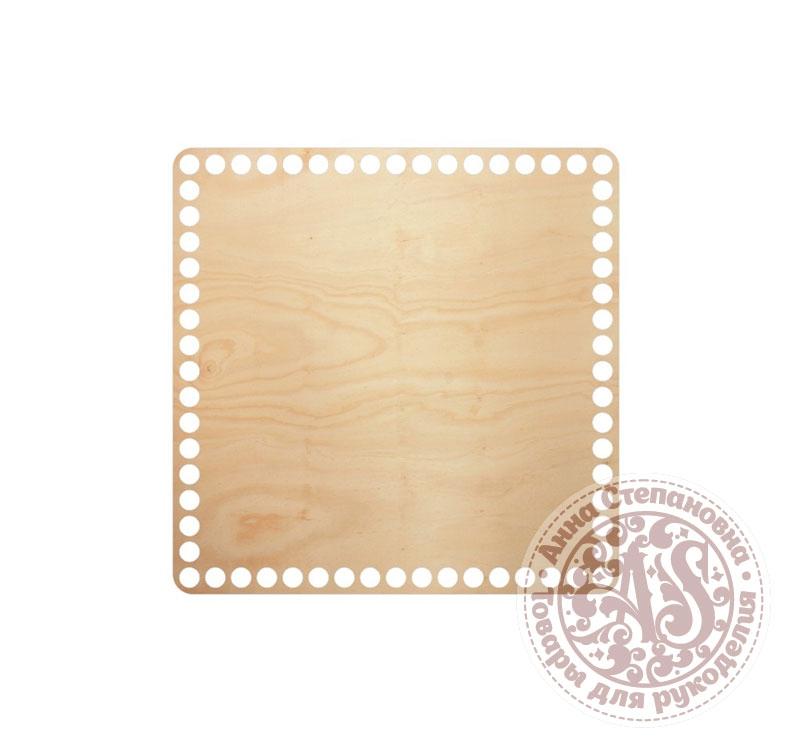 Деревянное донышко «Квадрат» для корзины 20х20 см