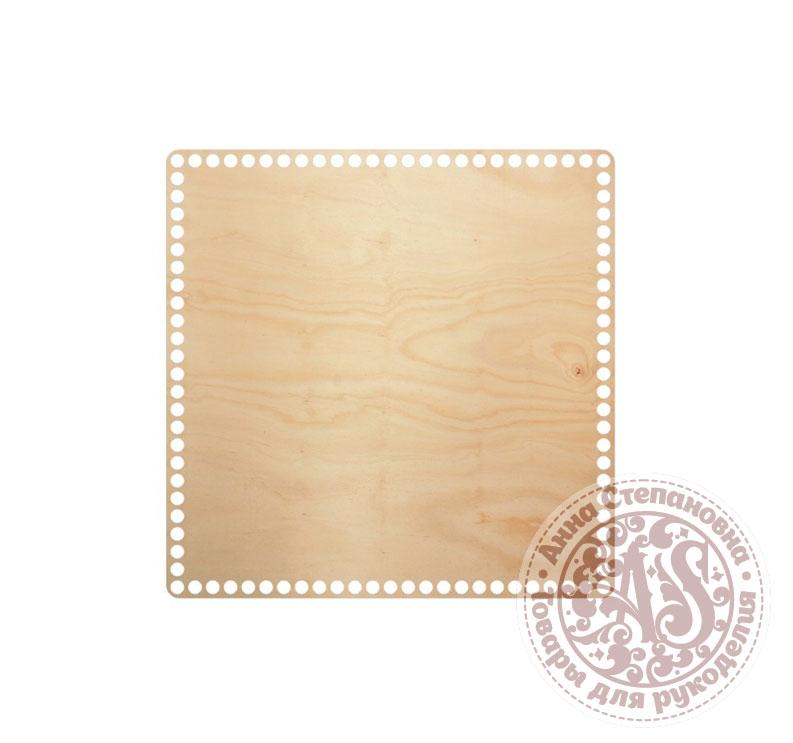 Деревянное донышко «Квадрат» для корзины 30х30 см