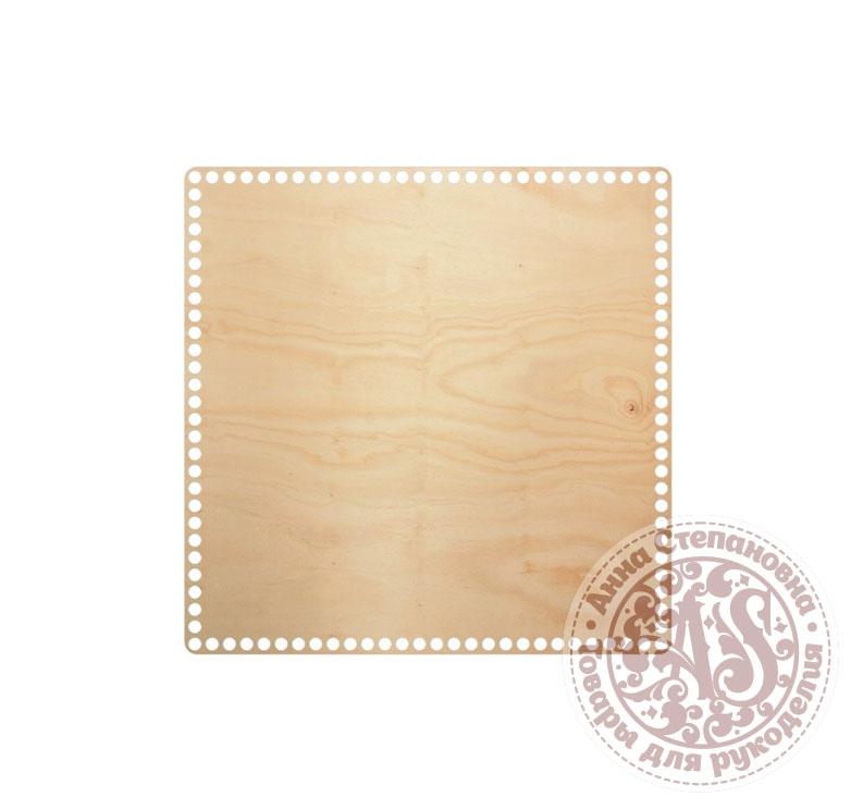 Деревянное донышко «Квадрат» для корзины 35х35 см