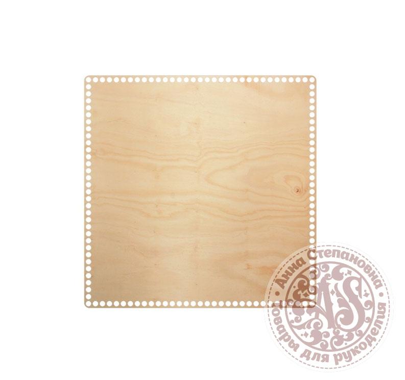 Деревянное донышко «Квадрат» для корзины 40х40 см