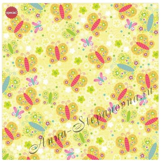 Бумага Бабочки K&Company