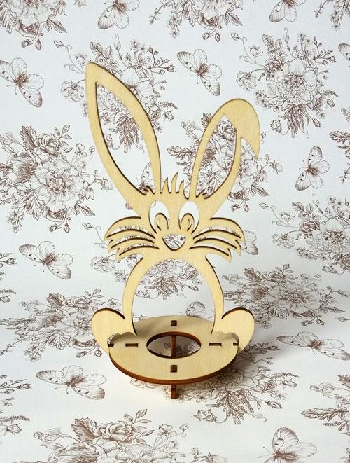 Подставка пасхальная «Кролик» под одно яйцо