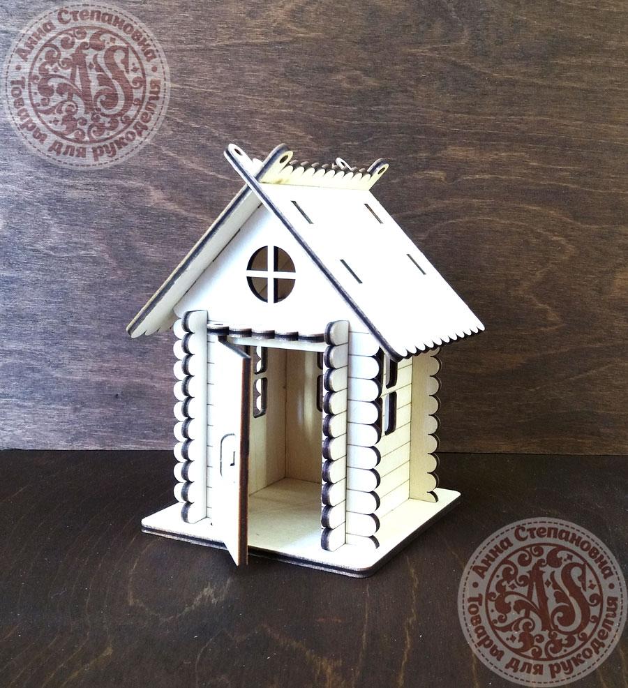 Домик деревянный Семейный очаг