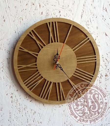 Часы деревянные «Ретро»