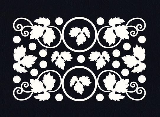 Чипборд оптом Виноградная лоза рамочки