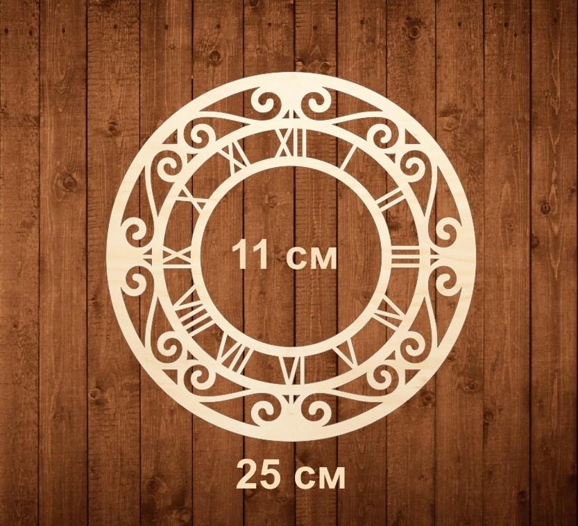 Накладка для часов «Цифры римские» с завитками