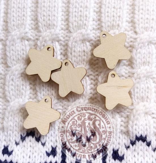 Декор деревянный «Звезды»