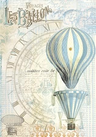 Бумага рисовая Воздушный шар