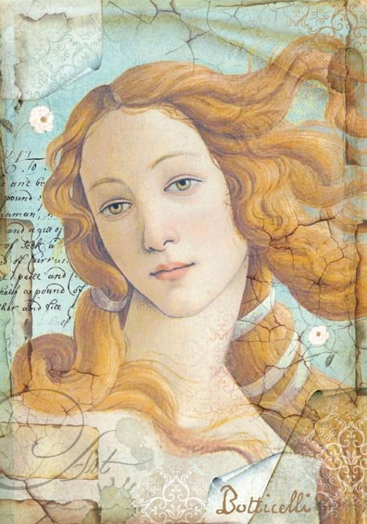 Бумага рисовая Botticelli Венера