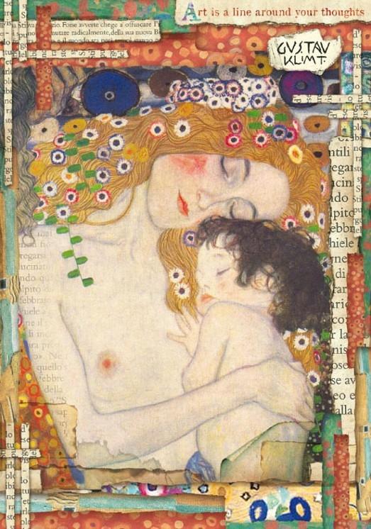 Бумага рисовая Klimt Материнство